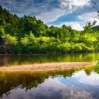 View of the Lehigh River, one of the best Lehigh Valley attractions