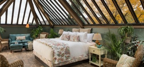 The conservatory bed