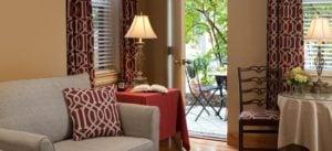 Sayre room lounge area