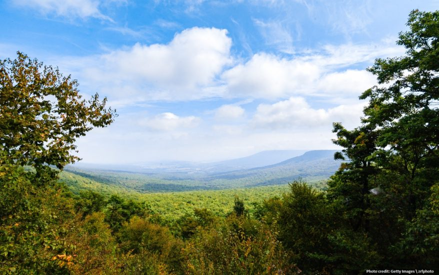 Hawk Mountain trails are great for hiking!