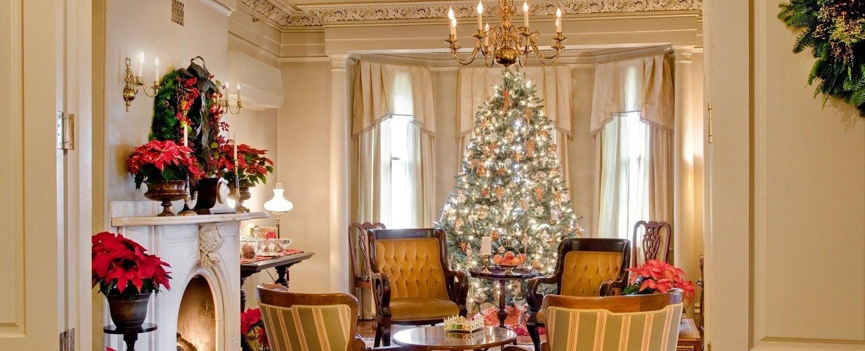 Sayre Mansion at Christmas